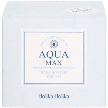Holika Holika Aqua Max успокояващ и хидратиращ крем за суха или много суха кожа 4