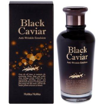 Holika Holika Black Caviar Haut Emulsion gegen Falten 2