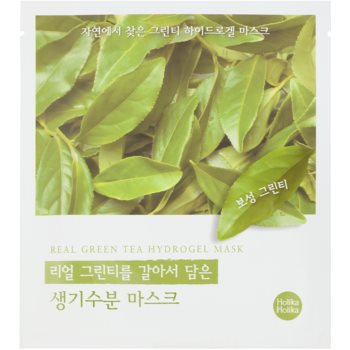 Holika Holika Hydrogel Mask feuchtigkeitsspendende Gesichtsmaske mit Auszügen aus grünem Tee
