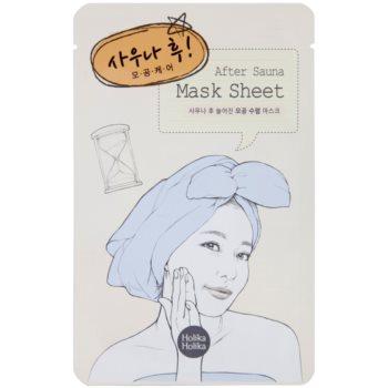 Holika Holika Mask Sheet After Gesichtsmaske zur Reduzierung der Poren