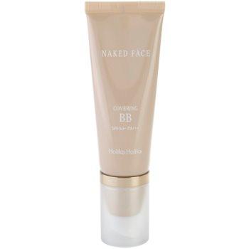 Holika Holika Naked Face crema BB cu o protectie UV ridicata