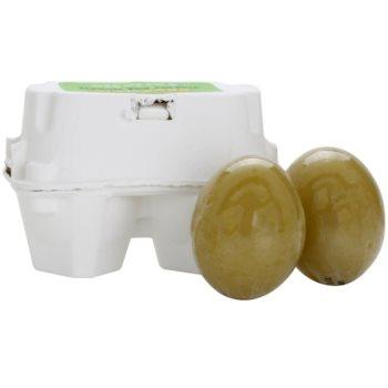Fotografie Holika Holika Smooth Egg Skin mýdlo proti akné 2 x 50 g