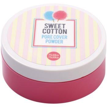 Holika Holika Sweet Cotton pudra  pentru netezirea pielii si inchiderea porilor