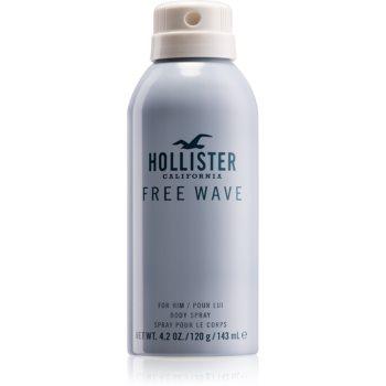 Hollister Free Wave spray pentru corp pentru barbati 143 ml