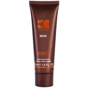 Hugo Boss Boss Orange Man After Shave balsam pentru barbati 50 ml