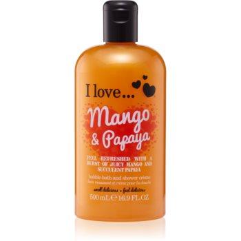 Poza I love... Mango & Papaya cremă de duș și baie
