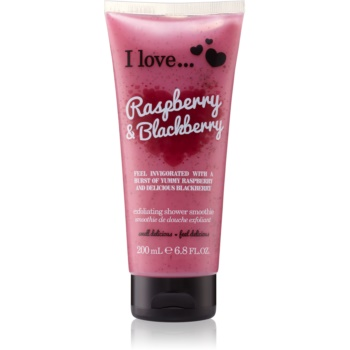 I love... Raspberry & Blackberry gel de dus exfoliant poza