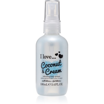 I love... Coconut & Cream spray de corp racoritor