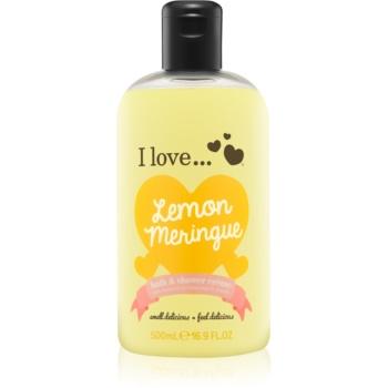 I love... Lemon Meringue cremã de du? ?i baie imagine produs