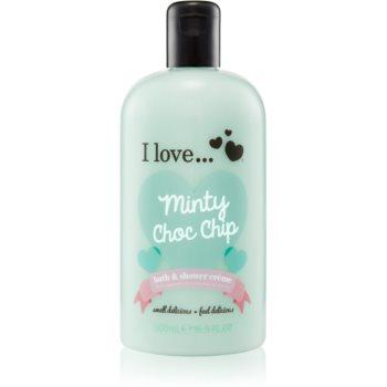 I love... Minty Choc Chip cremã de du? ?i baie imagine produs