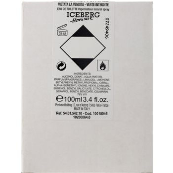 Iceberg Homme туалетна вода тестер для чоловіків 1