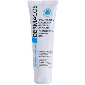 Ideepharm Dermacos Dry Sensitive Allergic Skin hypoalergenní maska hydratující