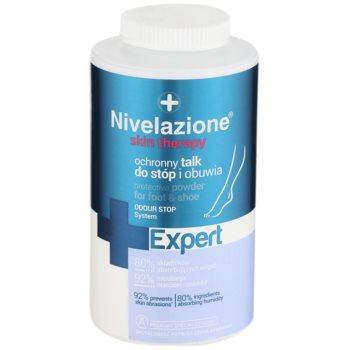 Ideepharm Nivelazione Expert pudra pentru picioare si incaltaminte impotriva mirosului si transpiratiei  110 g