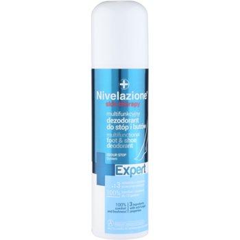 Ideepharm Nivelazione Expert deodorant spray pentru picioare si pantofi