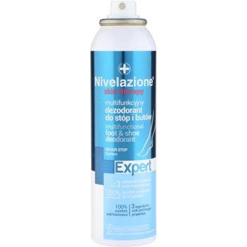 Ideepharm Nivelazione Expert deodorant spray pentru picioare si pantofi 1
