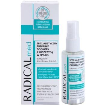 Ideepharm Radical Med Psoriasis professzionális bőrnyugtató ápolás pikkelysömörre 1