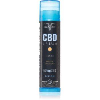 Ignite CBD Mango 50mg balsam de buze imagine