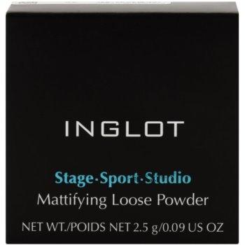 Inglot Stage Sport Studio pó solto matificante 3