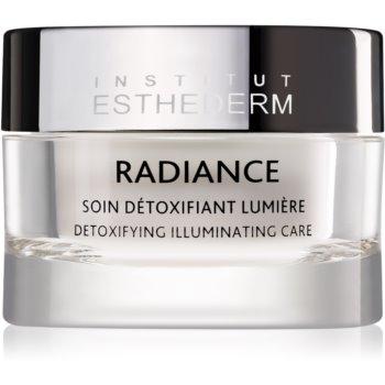 Institut Esthederm Radiance Detoxifying Illuminating Care Crema impotriva primelor semne de imbatranire pentru strãlucirea ?i netezirea pielii poza