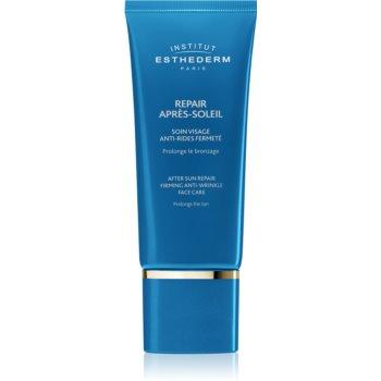 Institut Esthederm After Sun Repair Firming Anti Wrinkle Face Care crema de fata dupa expunerea la soare imagine produs