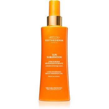 Institut Esthederm Sun Sublime Ultra-Nourishing Beauty Enhancer Care activator pentru bronz imagine produs