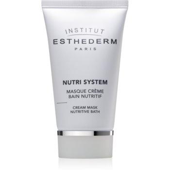 Institut Esthederm Nutri System Cream Mask Nutritive Bath masca crema nutritiva cu efect de intinerire