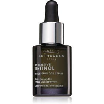 Institut Esthederm Intensive Retinol Oil Serum Ser impotriva semnelor de imbatranire a pielii