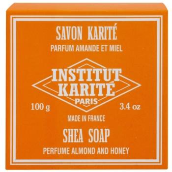 Institut Karité Paris Almond & Honey tuhé mydlo s bambuckým maslom