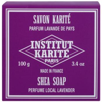 Institut Karité Paris Lavender Feinseife mit Bambus Butter