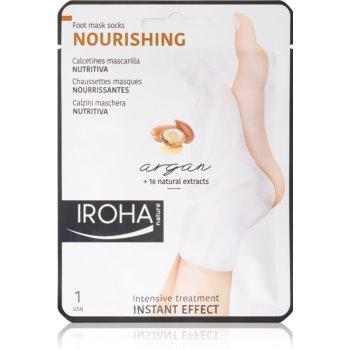 Iroha Nourishing Argan mascã regeneratoare pentru picioare ?i unghii imagine produs