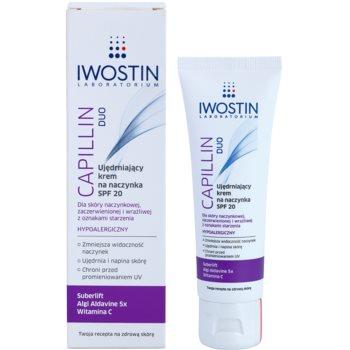 Iwostin Capillin Duo stärkende Creme für geplatzte Äderchen SPF 20 1