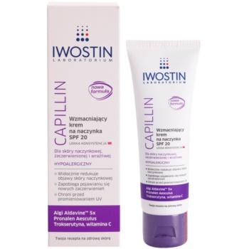 Iwostin Capillin Crema refacere pentru vene sparte SPF 20 1