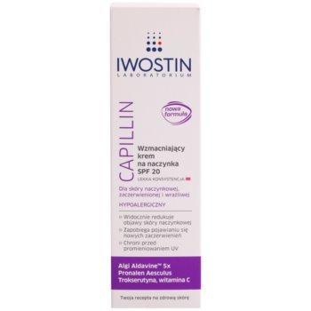 Iwostin Capillin Crema refacere pentru vene sparte SPF 20 2
