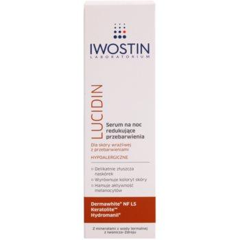 Iwostin Lucidin нощен серум против пигментни петна 2