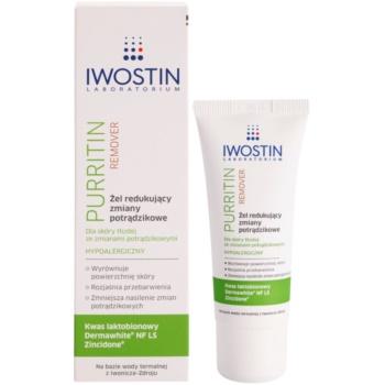 Iwostin Purritin Remover гель проти недоліків проблемної шкіри 1