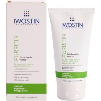 Iwostin Purritin gel de dus pentru tenul gras, predispus la acnee 1