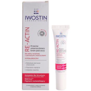 Iwostin Re-Actin крем за околоочния контур против бръчки за чувствителна кожа на лицето 1