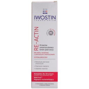 Iwostin Re-Actin крем за околоочния контур против бръчки за чувствителна кожа на лицето 2