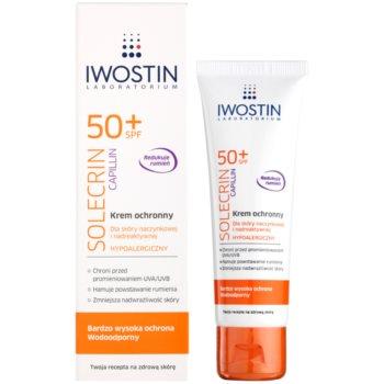 Iwostin Solercin Capillin zaščitna krema za kožo z žilnimi težavami SPF 50+ 1