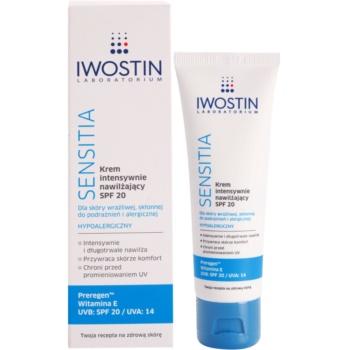 Iwostin Sensitia intensive, hydratisierende Creme SPF 20 1