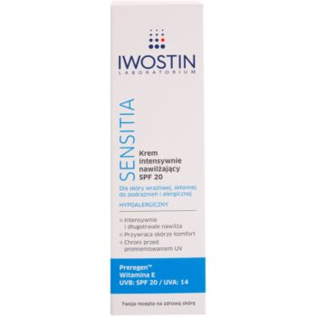 Iwostin Sensitia intensive, hydratisierende Creme SPF 20 2