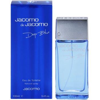 Jacomo Jacomo de Jacomo Deep Blue Eau de Toilette pentru bărbați