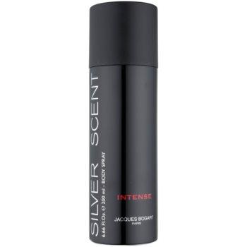 Jacques Bogart Silver Scent Intense spray pentru corp pentru barbati 200 ml