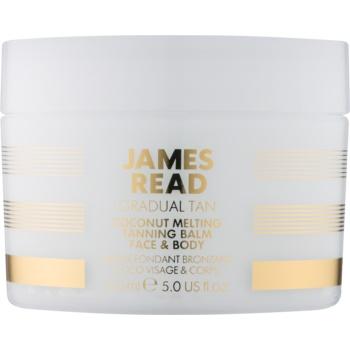James Read Gradual Tan lotiune autobronzanta pentru corp si fata cu ulei de cocos  150 ml