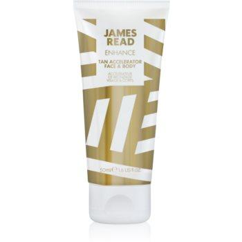 james read enhance agent pentru accelerarea și prelungirea bronzării