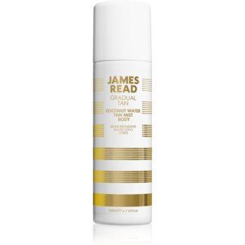 James Read Gradual Tan Coconut Water Spray pentru protectie pentru corp