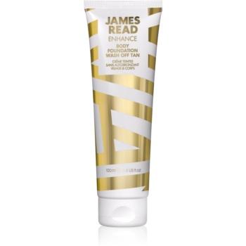 James Read Enhance lapte autobronzant ce se duce la prima spalare pentru fata si corp