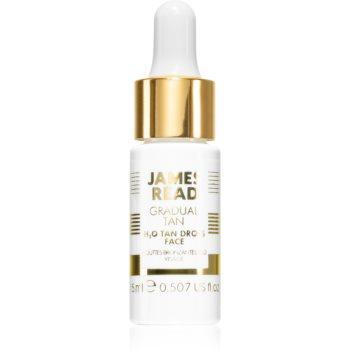 James Read Gradual Tan H2O Tan Drops picaturi pentru bronzare facial