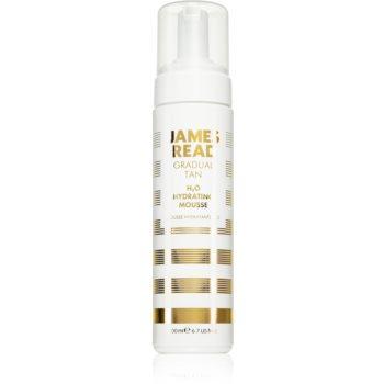 James Read Gradual Tan H2O Hydrating Mousse spuma autobronzanta cu efect de intinerire