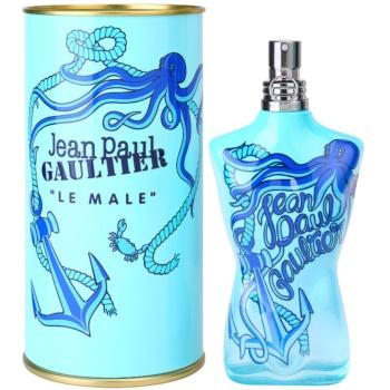 Fotografie Jean Paul Gaultier Le Male Summer 2014 kolínská voda pro muže 125 ml